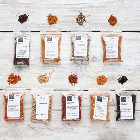 9 Barbecue Spice Blends & Meat Rubs Collection